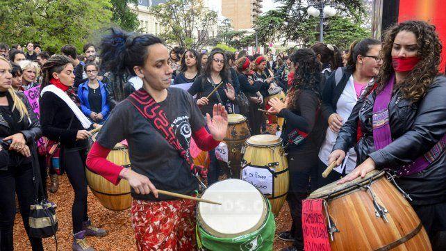 Paraná se manifiestó contra la violencia de género