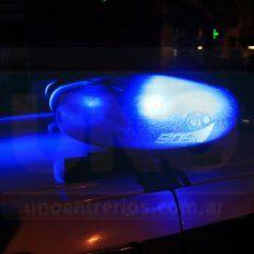 Una familia fue sorprendida por delincuentes mientras dormía