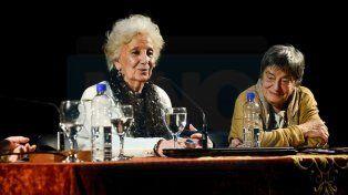 Estela de Carlotto en Paraná: Nunca nos arrodillamos