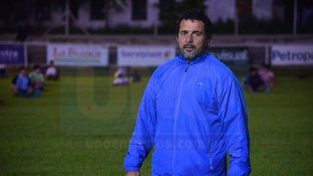 Adrián Giupponi comenzó anoche su trabajo al frente del seleccionado de Menores de 18 años.