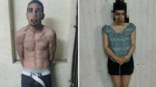Una pareja fue detenida cuando tenían sexo oral en la calle