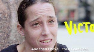 #EsViral La pesadilla de vivir en la calle, ser mujer y tener la menstruación