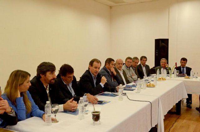 Bordet ratificó a Feltes con el apoyo de los intendentes justicialistas