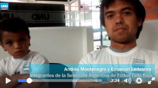 Los Bajitos entrerrianos juegan en Paraguay