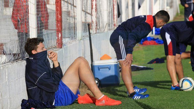 Ortiz no podrá contar con Felipe Cadenazzi