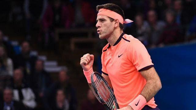 Del Potro en semifinales del ATP 250 de Estocolmo