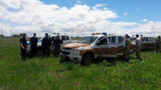 Rural. Los policías los encontraron cuando escapaban.