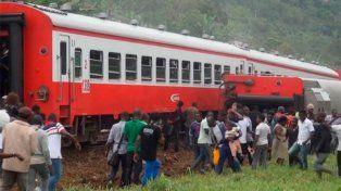 Tragedia en Camerún: al menos 55 muertos al descarrilar un tren