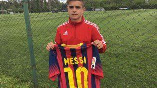 El otro Messi de Newell´s: se llama Joaquín y tiene 14 años