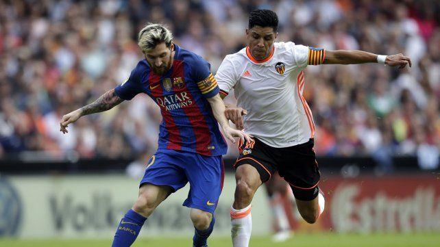 Messi le dio la victoria a Barcelona en la última jugada