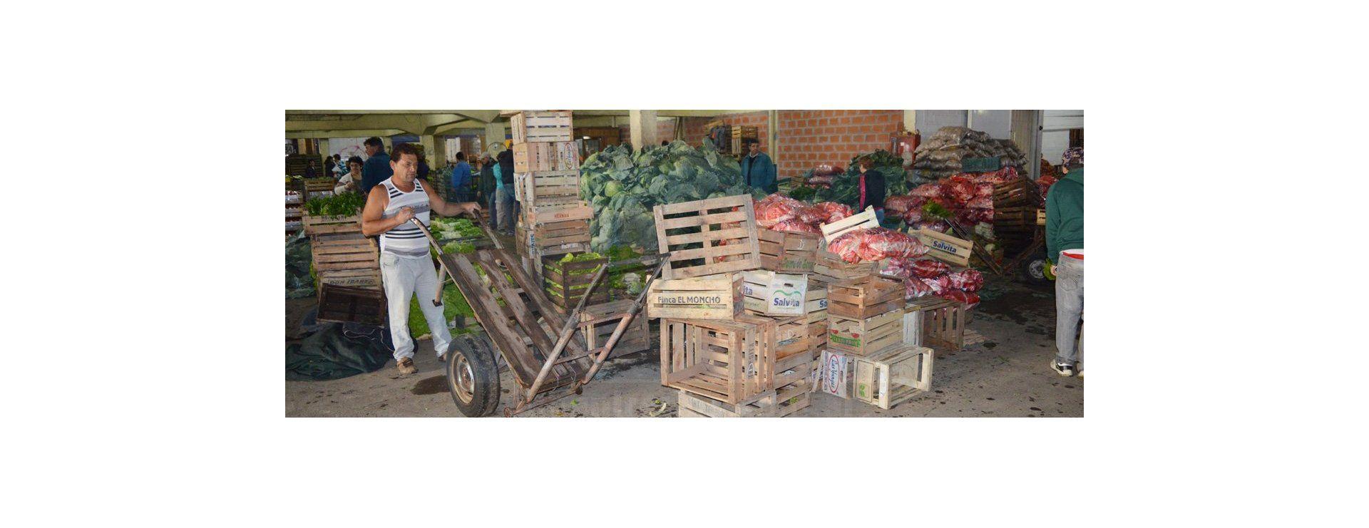 Todo el color del Mercado Concentrador El Charrúa de Paraná