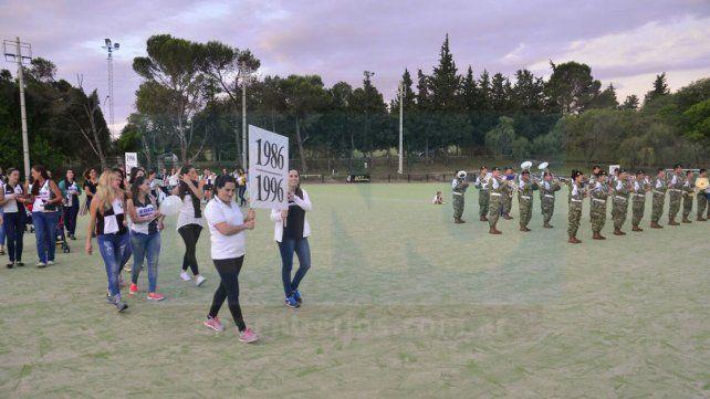 El Club Atlético Estudiantes celebró 40 años de hockey sobre césped