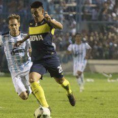 En un vibrante partido, Boca y Atlético Tucumán empataron 2 a 2