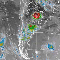 Rige un alerta meteorológico por tormentas fuertes para Entre Ríos y otras provincias