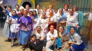Propuesta escénica. Cada año, el coro presenta zarzuelas y comedias musicales.