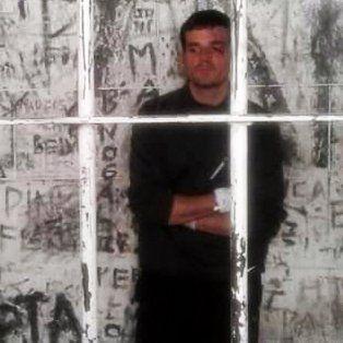 Daniel Zalazar pasó su primera noche como detenido en la Comisaría Séptima de Godoy Cruz.