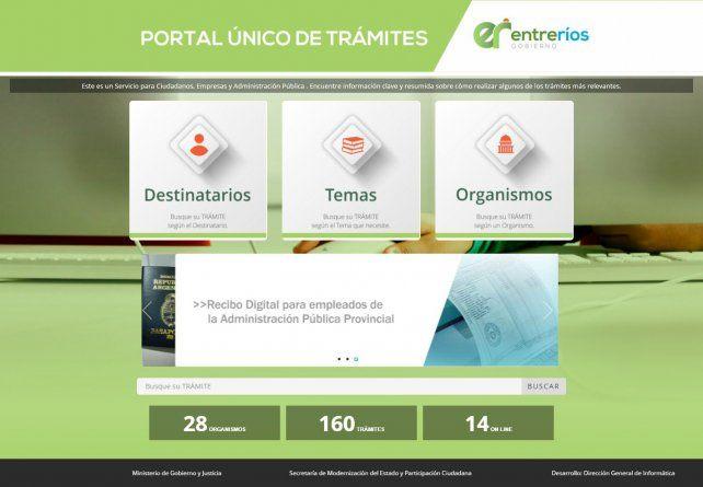 Entre Ríos lanzó su portal único de trámites