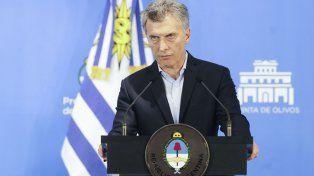 Macri: Venezuela no puede ser parte del Mercosur