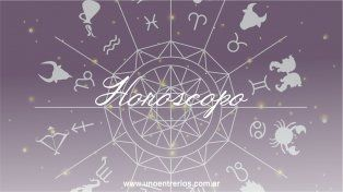 El horóscopo para este martes 25 de octubre