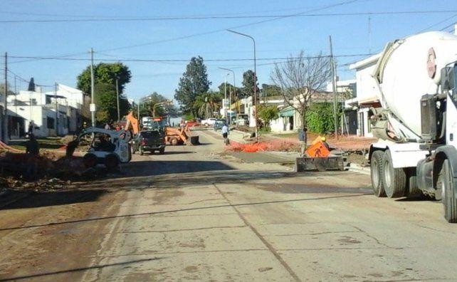 En los próximos días concluirá el ensanche de avenida Blas Parera