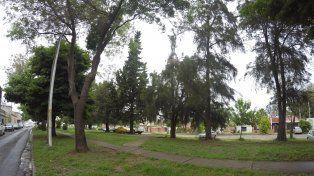 Un bosquecito verde a cinco cuadras del microcentro paranaense. Foto UNO Juan Manuel Kunzi.