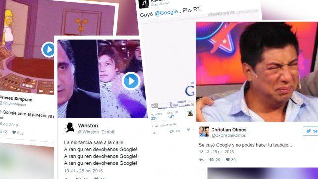 Se cayó Google: los mejores memes en las redes sociales