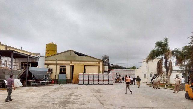 Hay 17 operarios heridos por una explosión en una fábrica de Victoria