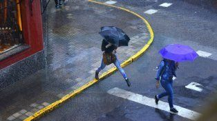 Otra jornada con probables lluvias y vientos con ráfagas en la provincia