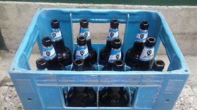 Cuatro detenidos tras encontrar cocaína dentro de botellas de cerveza