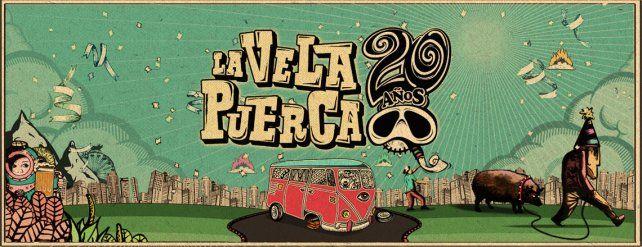 La Vela Puerca tocará en Paraná
