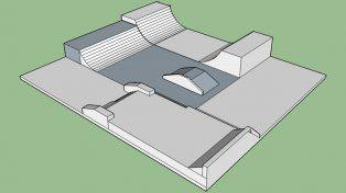 Skaters de Hasenkamp presentarán los planos para la ampliación del skatepark