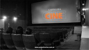 Cartelera de cine para el fin de semana