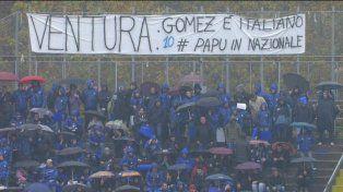 Papu Gómez muy cerca de jugar en la selección italiana