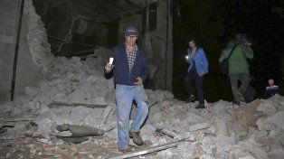Un terremoto de intensidad 5,4 sacude el centro de Italia