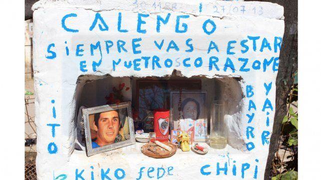 Recuerdo. La familia Kartasián pide justicia por Calengo.