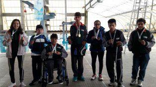 Para el aplauso. Los chicos con capacidades diferentes también dieron la nota al ganar varias medallas en Mar del Plata.