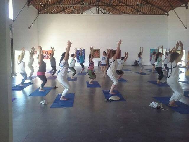 El encuentro en el Puerto demostró el crecimiento del Yoga en Paraná