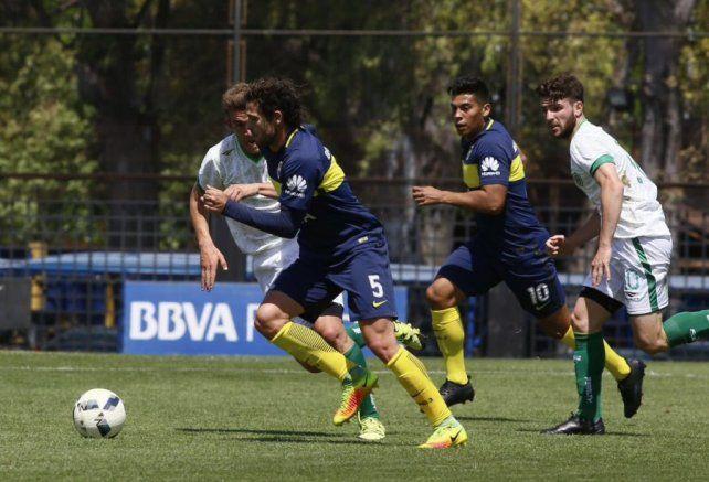 Gagó volvió a jugar en la reserva de Boca