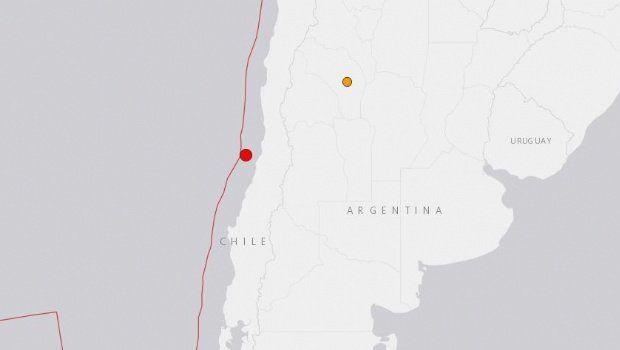 Terremoto de 5,9 grados en Chile