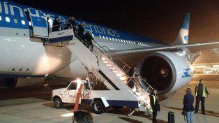 Aterrizaje de emergencia en un vuelo de Aerolíneas Argentinas