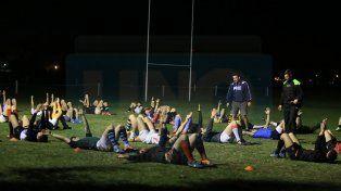 Lo último. El plantel entrenó anoche en La Tortuguita y hoy hará un reconocimiento de campo más algunos movimientos.