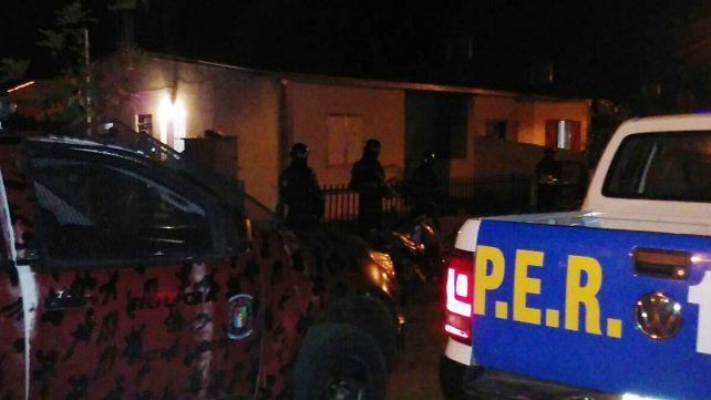 Detuvieron a tres personas y secuestraron droga tras seis allanamientos