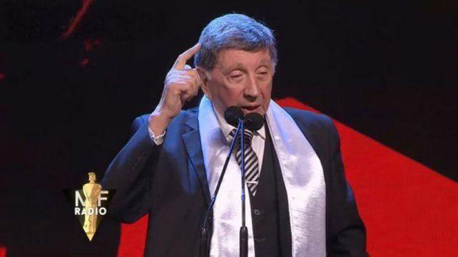 El emotivo homenaje a Luis Landriscina en los Martín Fierro a la radio