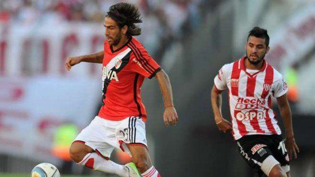 Leo Ponzio es uno de los puntales en el mediocampo del equipo Millonario.