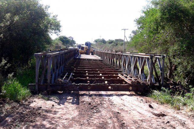 Reemplazarán los puentes bailey de la provincia
