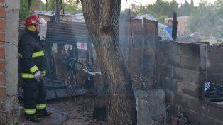 Un hombre resultó herido en un incendio, en la zona sur de Paraná