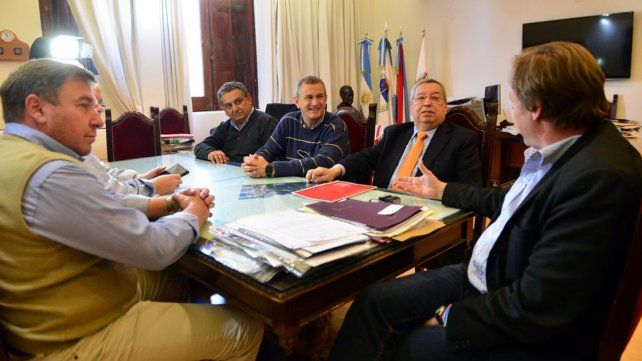 Acuerdos. Municipio y Centro Comercial debatieron propuestas.