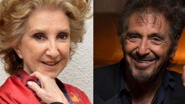 Norma Aleandro, sobre el show de Al Pacino: Aguanté 50 minutos y me fui