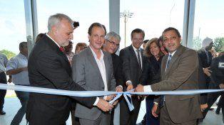 Inauguración. La inversión en el nuevo edificio de Ciencia y Tecnología fue de 11 millones de pesos.