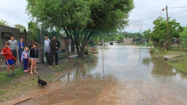 Paraná y Diamante son los departamentos más afectados por la tormenta